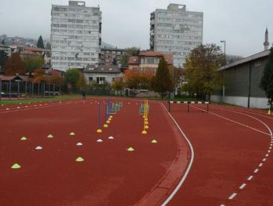 Svečano otvorena renovirana atletska staza Atletskog centra AK Sarajevo