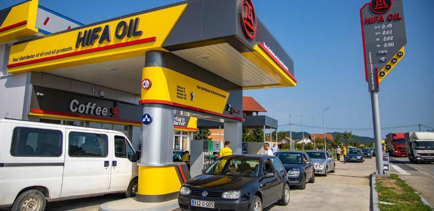 Hifa Oil otvorila u Doboju svoju desetu benzinsku pumpu