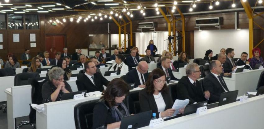 Prostorni plan grada Zenice povučen s dnevnog reda sjednice Skupštine ZDK-a