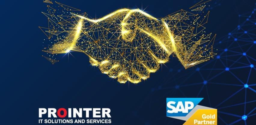 """Kvalitetom do """"zlatne"""" akreditacije: Prointer postao Gold SAP partner"""