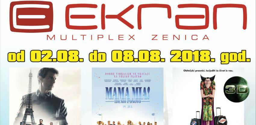 Hotel Transilvanija3 u Multiplexu Ekran Zenica
