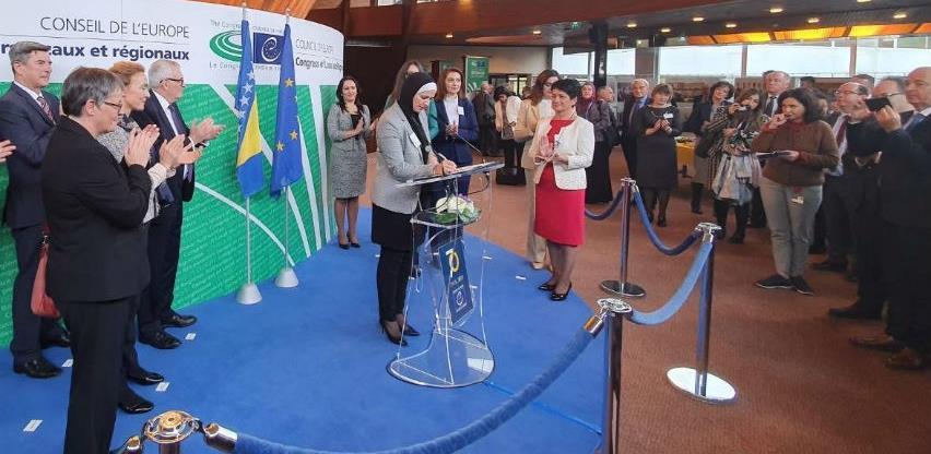 Bh. načelnice i gradonačelnice u Strasbourgu potpisale Sporazuma o saradnji