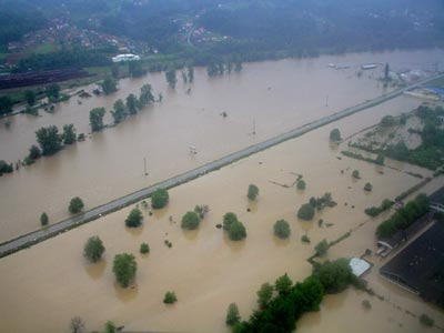 Obilne padavine mogu uzrokovati bujične poplave