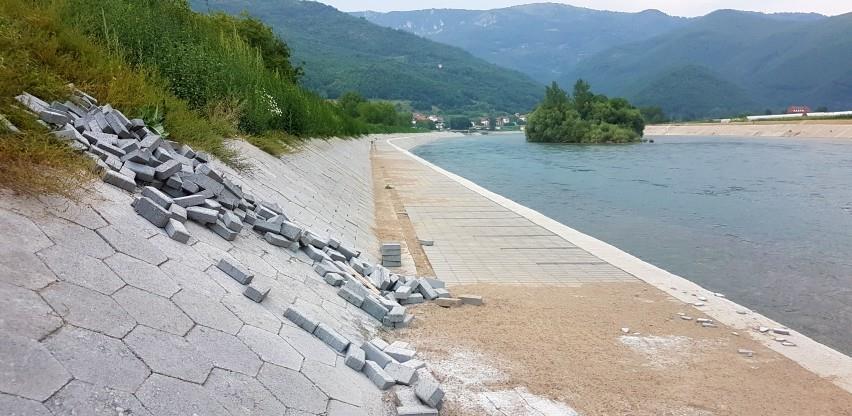 Nastavlja se borba za Drinu: Odobrenje za građenje obaloutvrde izdato nezakonito