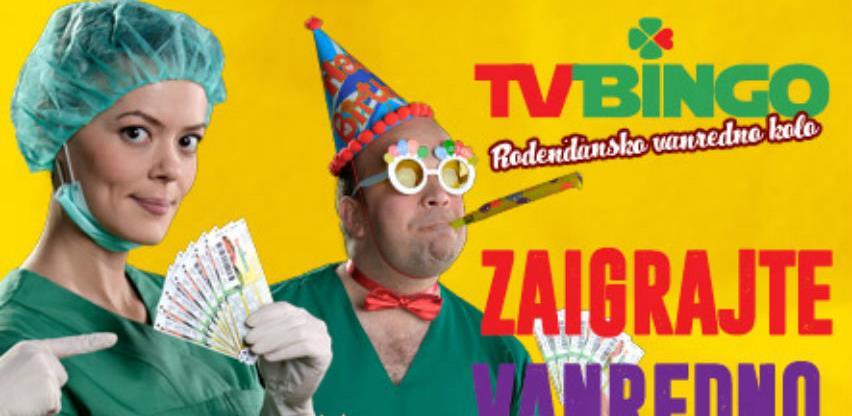 Mnogo zabave i novčanih dobitaka uz večerašnje vanredno kolo TV Binga