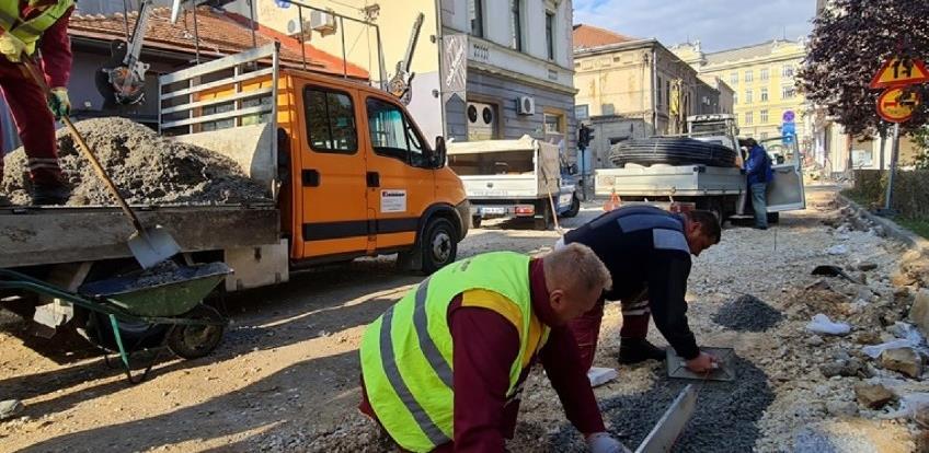 Grakop započeo radove na sanaciji treće završne faze u Ulici Čobanija