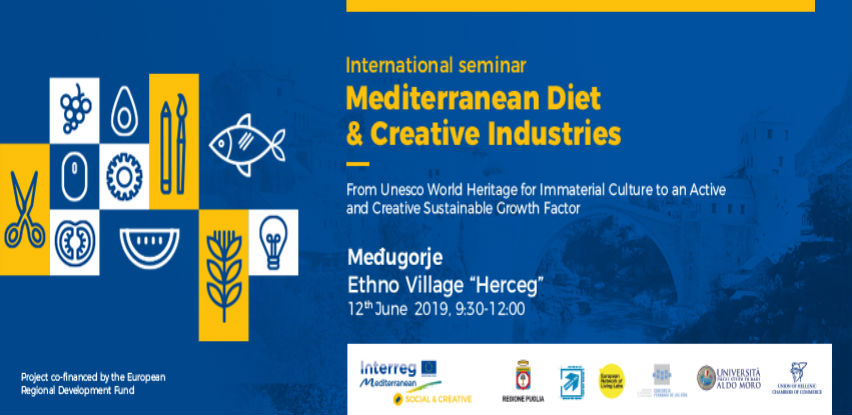 TALIA Međunarodni seminar: Mediteranska ishrana & kreativna industrija