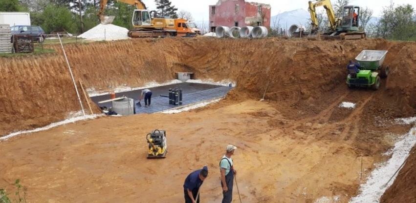 """Započeli radovi na izgradnji rezervoara """"Crkvine"""" na Ilidži"""