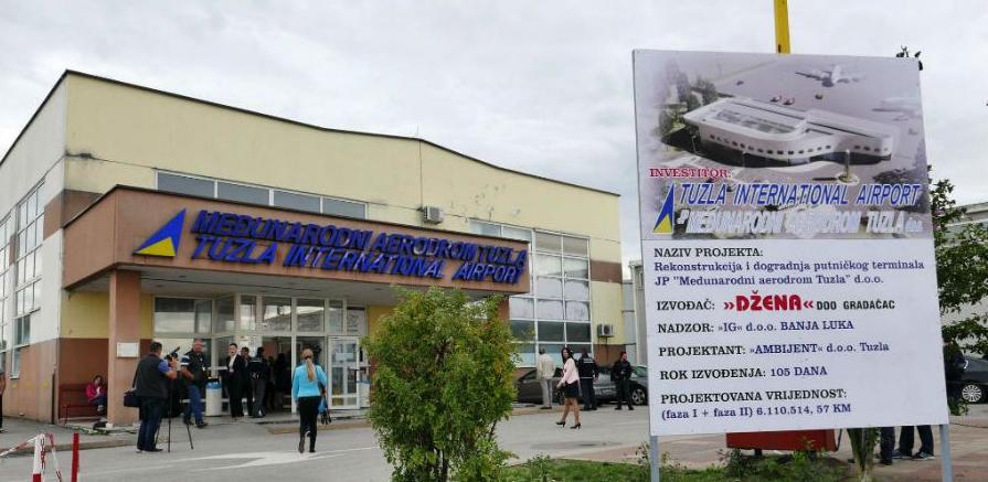 Aerodrom Tuzla otvoriće novi terminal početkom maja