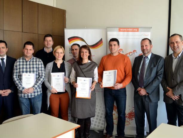 Uručeni međunarodno priznati certifikati iz izvoznog menadžmenta