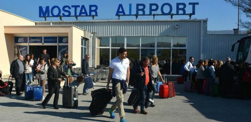 Redovna aviolinija između Zagreba i Mostara od 3. maja