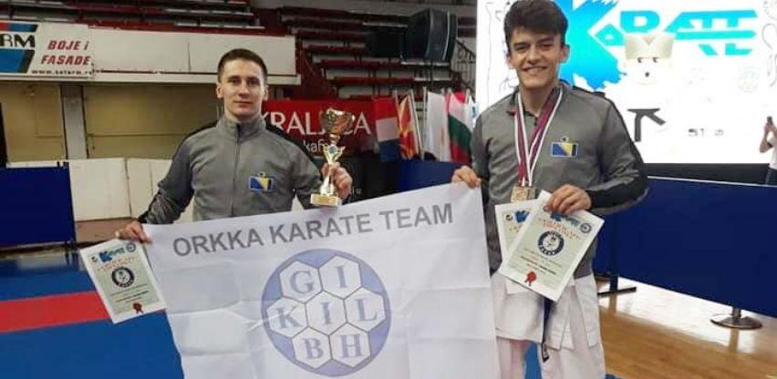 Reprezentacija BiH osvojila deset medalja na Balkanskom prvenstvu u karateu