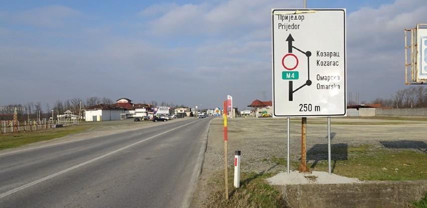 Počela obnova magistralnog puta Prijedor-Banjaluka izdvojeno oko 8 mil. KM