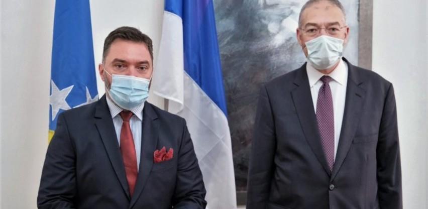 Košarac i ambasador Turske o mogućnosti investiranja u slobodne zone u BiH