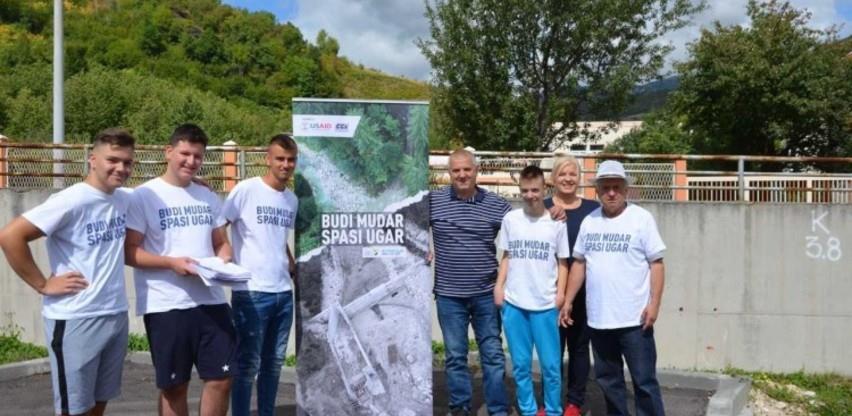 Aktivisti iz Travnika predali inicijativu za zaštitu rijeka u SBK