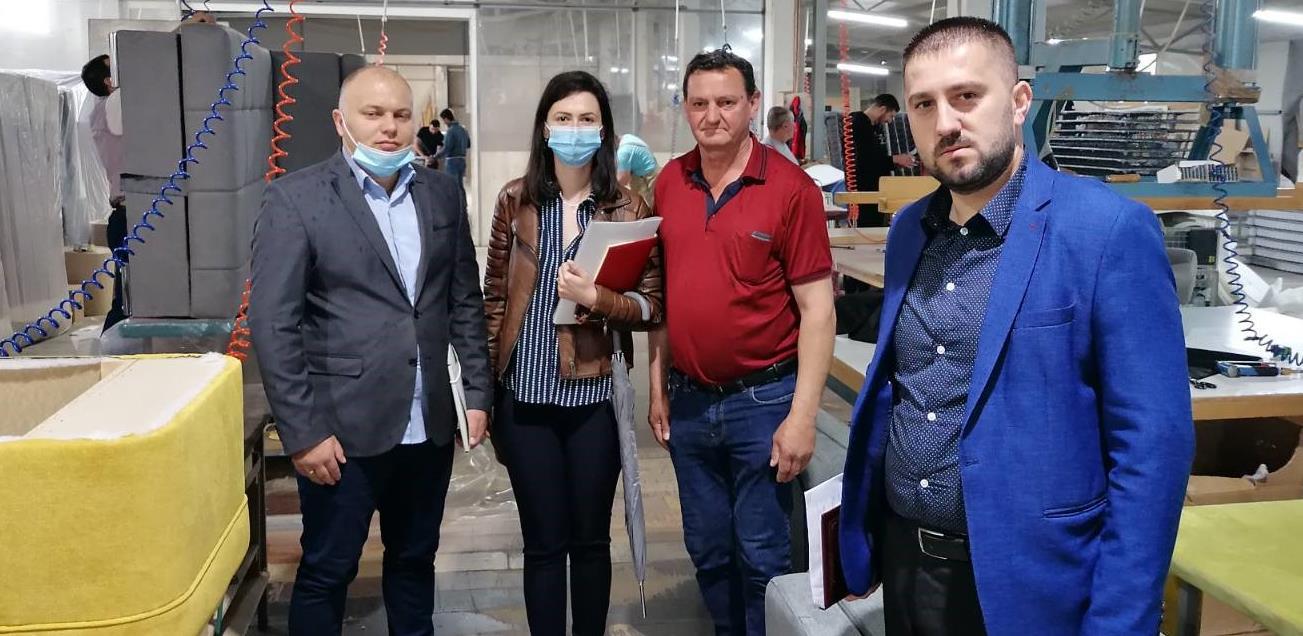 Nastavak postinvesticionih posjeta privrednim subjektima Grada Gradiška