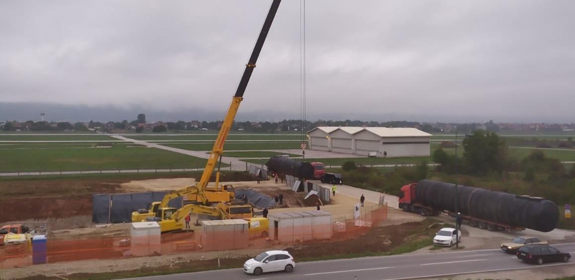 Federalni inspektorat potvrdio: Gradilište terminala za kerozin na Dobrinji je u vodozaštitnoj zoni