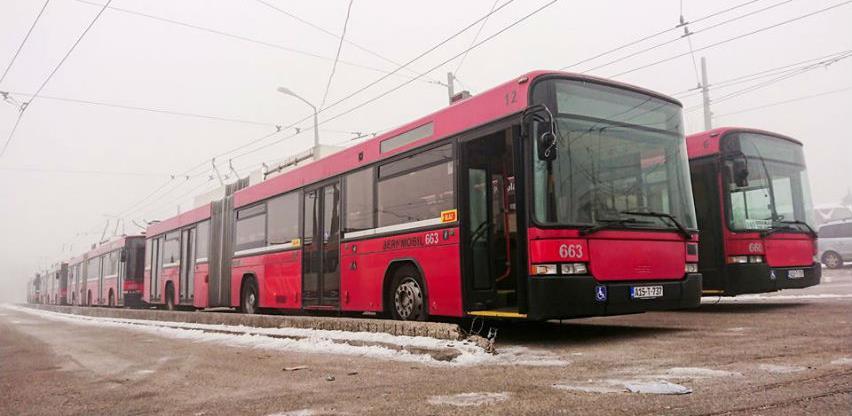 Sarajevo bogatije za još sedam novih trolejbusa