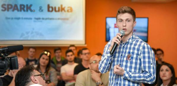 Uspješno održan SPARK & Buka talk show
