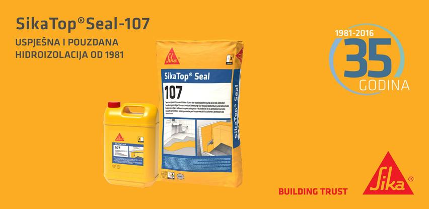 Sika BH najsretnijem od Vas poklanja 1 set SikaTop® Seal-107