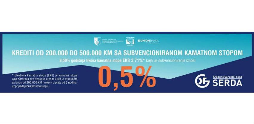 Podrška privredi: Nova kreditna linija KGF SERDA od 40 miliona KM