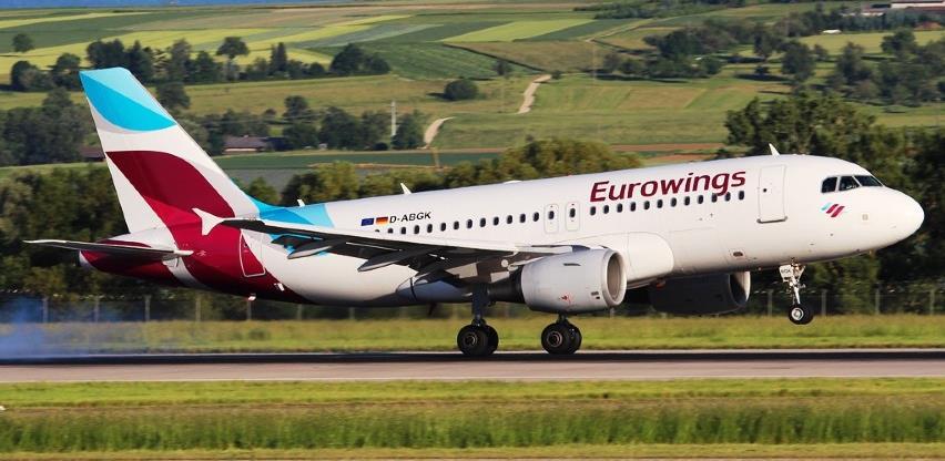 Eurowings se uskoro vraća u BiH