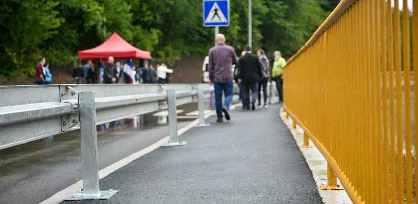 Sanirano klizište i obnovljen dio saobraćajnice u Priječanima