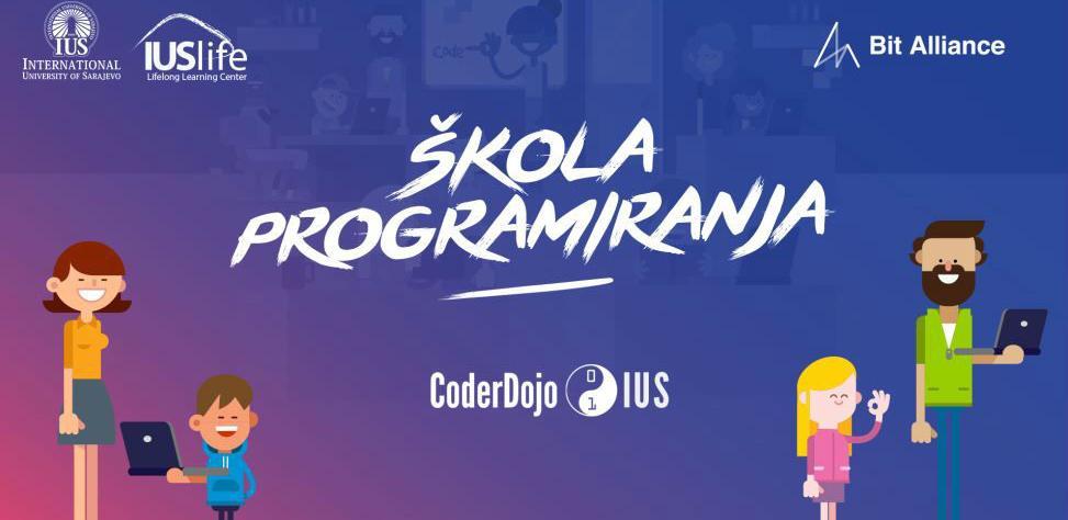 Prijavi se na besplatnu školu programiranja – CoderDojo na IUS-u