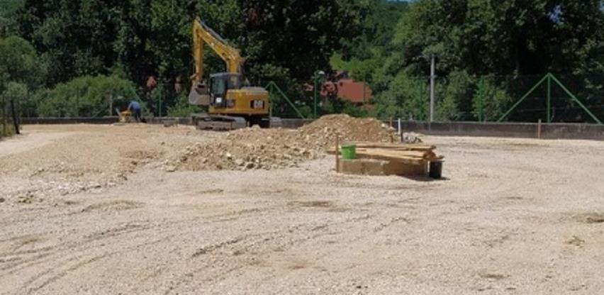 Napreduju radovi na drugoj fazi izgradnje reciklažnog dvorišta u Ilijašu