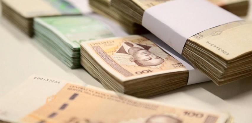 Korona tanji i najveća primanja: Najviša mjesečna plata u RS 33.525 KM