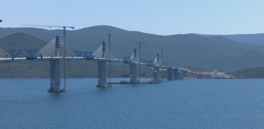 Pelješki most će biti spojen 28. jula