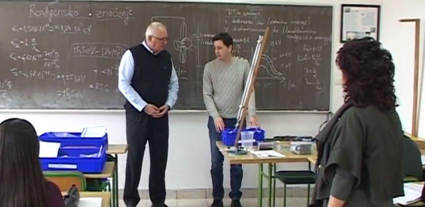 Kompanija Širbegović opremila kabinet fizike u gračaničkoj Gimnaziji
