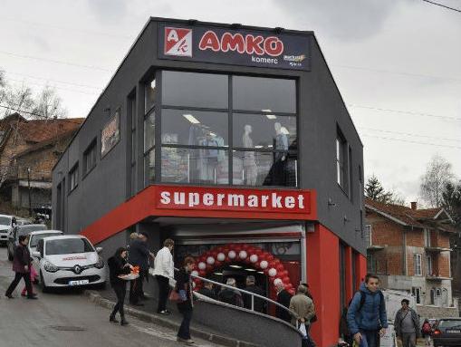 Amko komerc otvorio je novi preuređeni supermarket na Kobiljoj Glavi