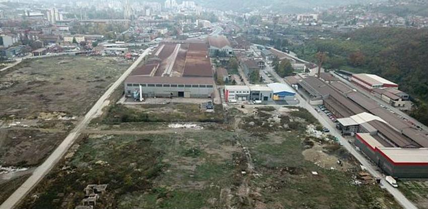 Poslovna zona Zenica 1 spremna za investitore - uređene slobodne površine