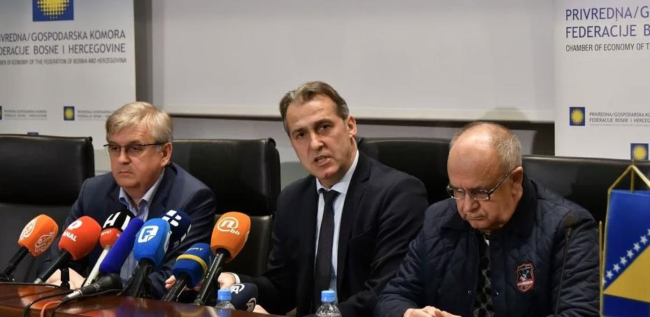 Krizni štab privrednika FBiH uputio vlastima prijedlog ekonomskih mjera