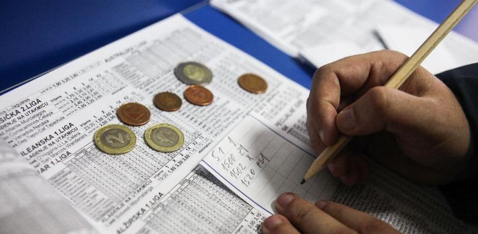 Kantonalni porezni ured Zenica blokirao račune kladionica