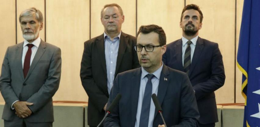 Potpisan Ugovor o transportu plina Federaciji BiH