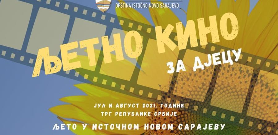 """Nova manifestacija """"Ljeto u Istočnom Novom Sarajevu"""" i kino na otvorenom"""