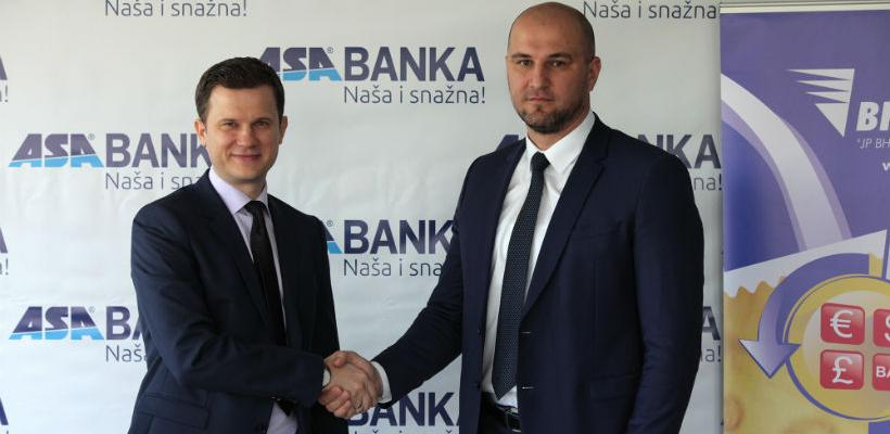 BH Pošta postala ovlašteni mjenjač za kupovinu i prodaju valuta ASA Banke