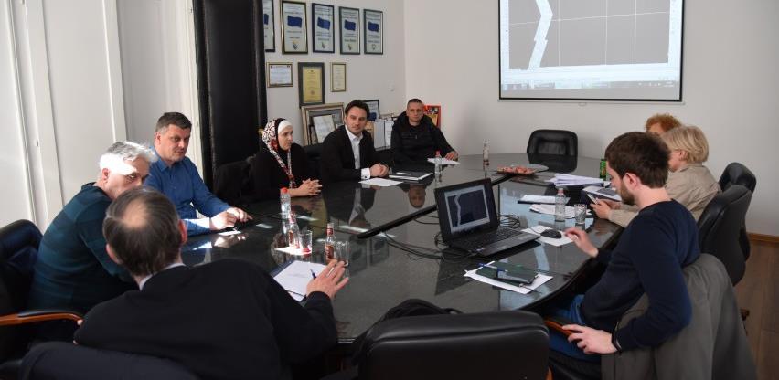 Održana prezentacija projekta rekonstrukcije ceste Buci - Goduša u Visokom