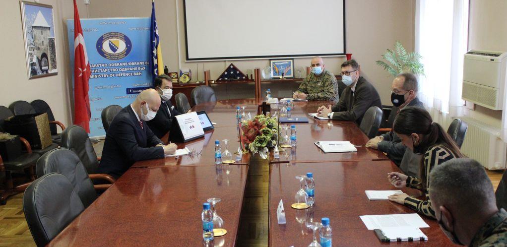 Predstavnici turske namjenske industrije upoznali se sa potrebama Oružanih snaga BiH