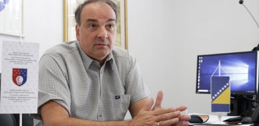 Smijenjen Nermin Pećanac, direktor Službe za zapošljavanje KS