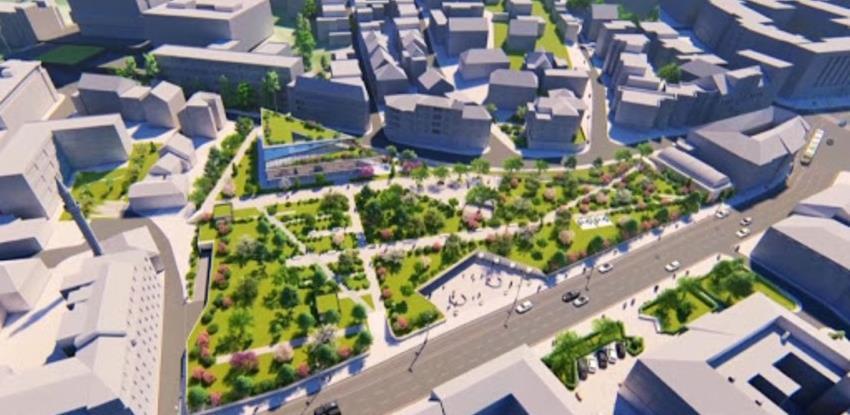 Centralna banka objavila video: Ovako će izgledati nova zgrada u parku Hastahana