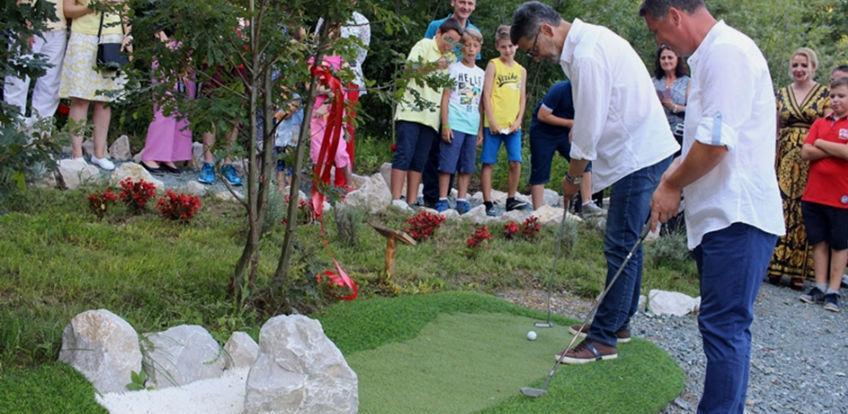 U Tuzli otvorena avanturistička mini golf igrališta