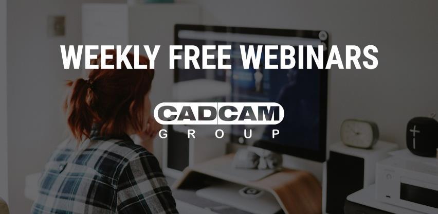 Kompanija CADCAM Solutions nudi besplatne webinare