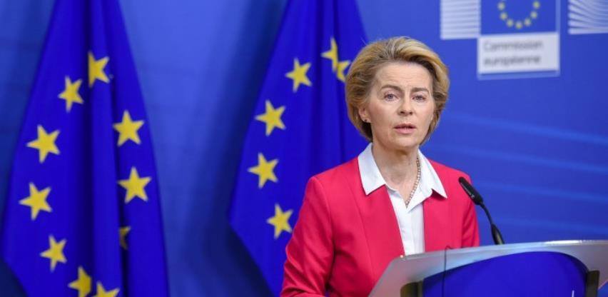 Ursula von der Leyen u BiH, susreti s dužnosnicima i otvaranje mosta Svilaj
