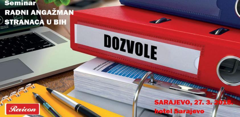 Revicon seminar: Radni angažman stranaca u BiH