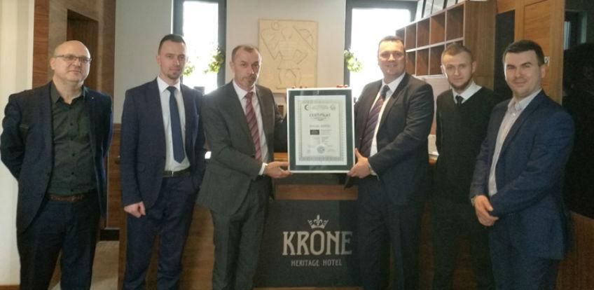Hotelu Krone uručen certifikat za halal hotel