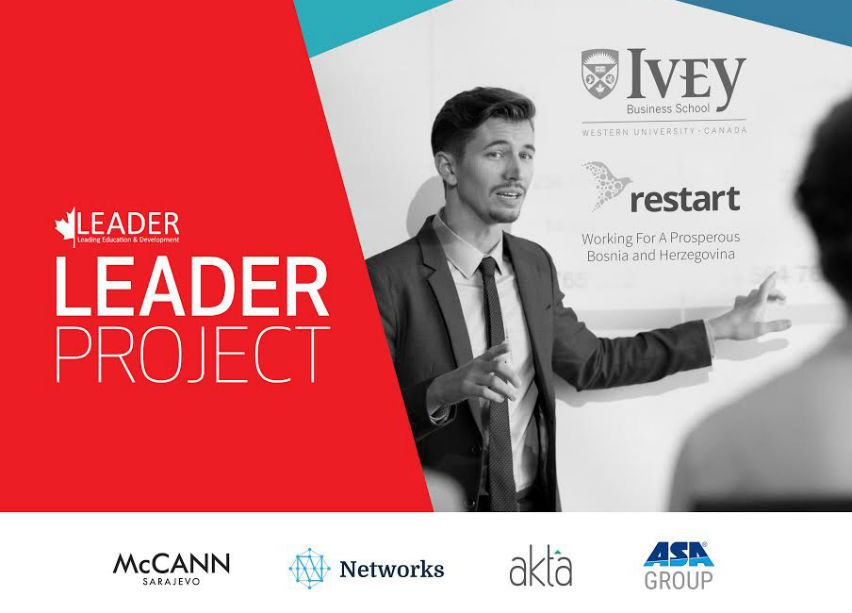 Prvi put u BiH Leader Project: Edukativni program MBA tipa za poduzetnike