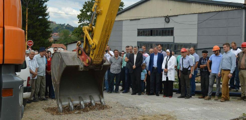Visoko: Počela realizacija historijski važnog infrastrukturnog projekta